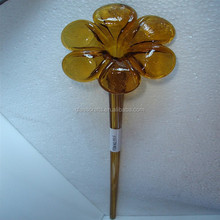 popular murano glass flower craft ornament YK-G64