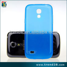 wholesale fahsion blue tpu cover case for samsung galaxy s4 mini i9190