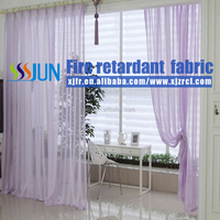 USA, Middle East, Market New Style Flame Retardant, anti bacterial, waterproof Sheer Curtain for hospital