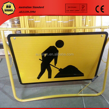 Galvanized steel pipe fold up stand suitable for signs 600X600,600X900,900X1200