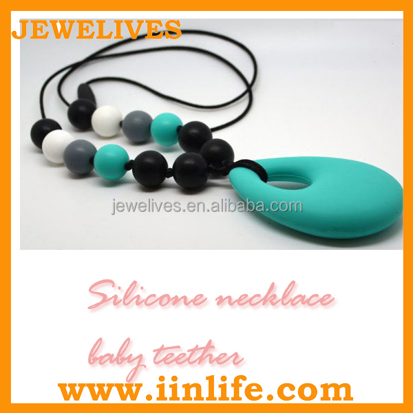 Baby toy silicone teething pendant for babies