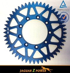 38-55 Teeth Aluminum T6 7075 Motorcycle Sprocket For Honda Yamaha Kawasaki Suzuki KTM