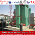 Vertical type steel plate abrasive blasting handling equipment