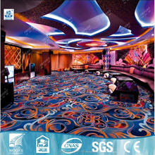 Casino carpet for sale,hotel used carpet with SGS fireproof certificate