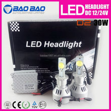Bottom price hot-sale h4 h7 1800 lm car led headlight with trade assurance