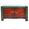 Beijing antique furniture wholesale wooden painted storage cabinet classic Mongolia cabinet