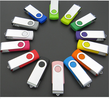 Colorful Full capacity Swivel Metal USB,High Speed USB 2.0 Brand LOGO 16GB 32Gb 64 GB USB Flash Drives