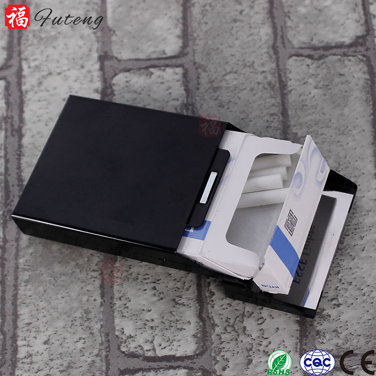 FT-04357 Yiwu Futeng Aluminium Cigarette Case 20pcs Lady Tobacco Box Wholesale