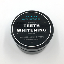 free design Activated Coconut Charcoal powder for teeth whitening