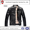 Garment Inspection,Factory inspection For Man&Woman Leather Jacket,Punk Rock Style Suit