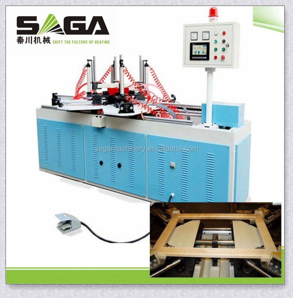 Picture frame/wooden frame making machine without nails