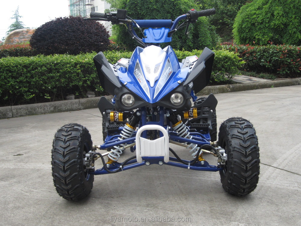 off road 110cc 125cc 4 stroke quad with reverse
