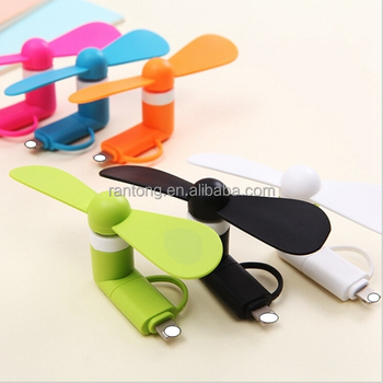 Portable Mobile Phone USB Mini Fan for iPhone Android mobile phones