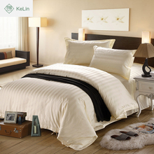 hot cake apartment use luxury hotel bedding ribbon embroidery duvet cover set