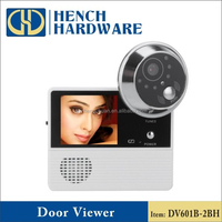 Peephole door viewer video door bell
