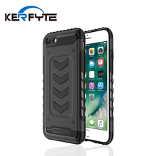 high quality cell phone case heat dissipation silicone soft tpu + pc hybrid phone case for iphone 8