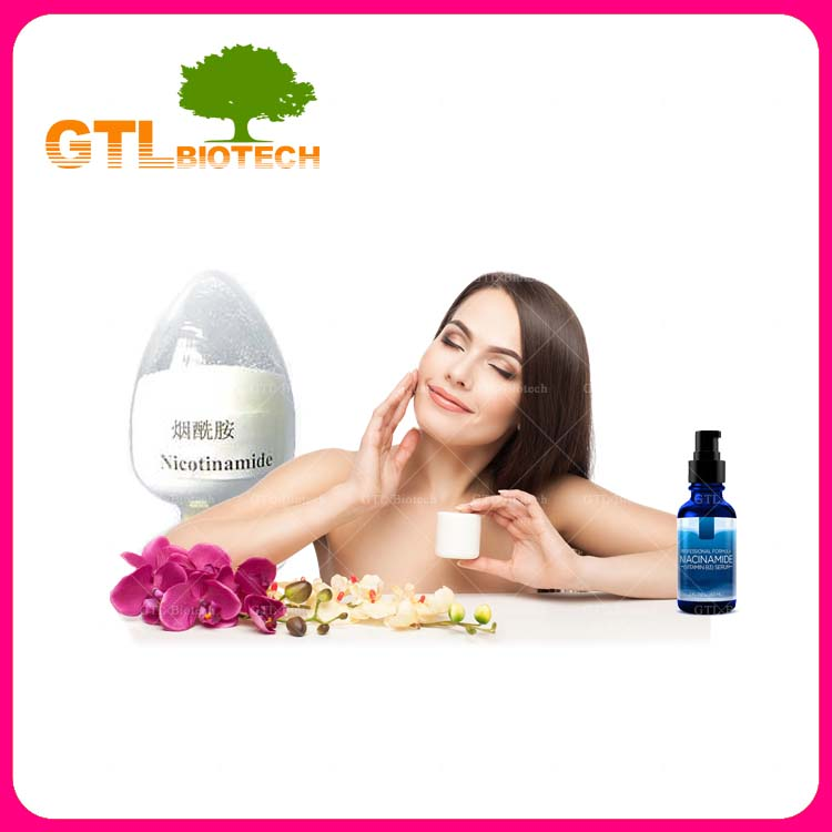 Manufacturer Supply Vitamin Niacinamide Cosmetic Grade Manufacture