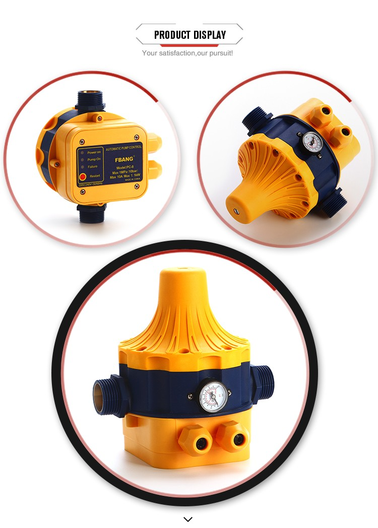 Promotions reliable Intelligence water pump low pressure control switch
