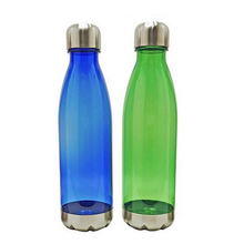 Cheap plastic flask/water bottles - flask shaped plastic water bottles