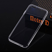 Cheap hot selling clear tpu mobile phone cover for iphone6 case