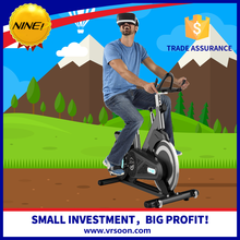 factory price Bicycle VR simulator machine riding on bike games