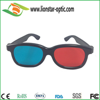 Hot anaglyphic red cyan thicken lens 3d glasses for bluray movies