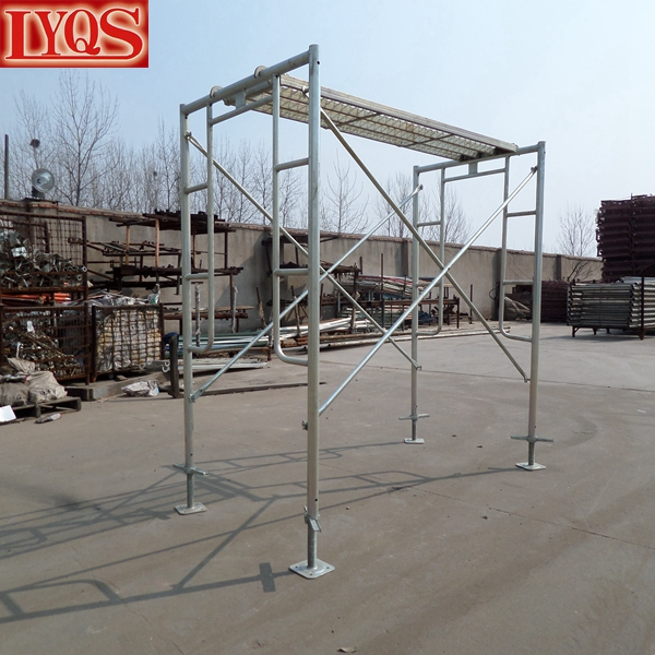 Snap On Scaffolding : Scaffolding platform snap on double ladder frame for