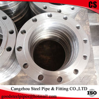 ASME B16.5 forged plate flange