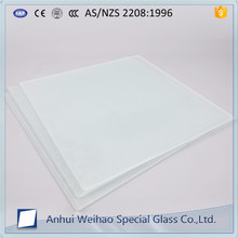 China 8mm 10mm Obscure glass partition for kitchen