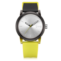 2018 hot trend cheap silicone women with rubber watch band