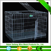 Australian standard Large outdoor galvanised welded pet enclosure/dog kennels strong steel dog cage
