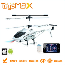 3.5 channels rc helicopter toys Android & Iphone control, remote control plane for children with gyro camera