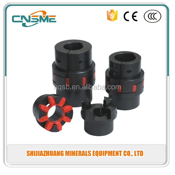 Free Shipping 5mm to 12mm Spider Shaft Coupling 5x12mm Jaw Flexible Coupling Precision Plum Coupler
