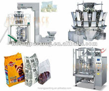 HS-520A Automatic Candy Packing machine with10 or 14 heads weigher
