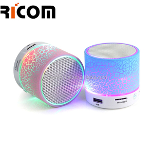 beautiful colorful led quran speaker with wireless Smart lamp wireless speaker with led light