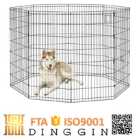 Pet products dog kennel fence panel