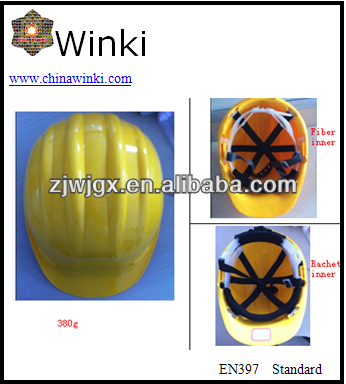 Safety Helmet EN397 Certificate ,Adjustment system: Two choices Pinlock Or ratchet