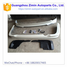 high quality black ABS plastic car front and rear body kit for LC200 FJ200 2012