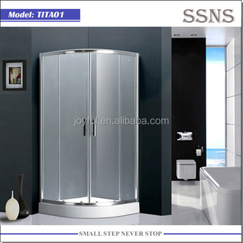 5mm thickness tempered glass shower room TITA01