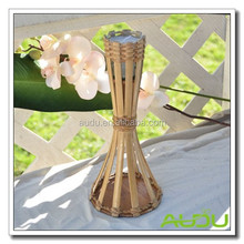 Audu Bamboo Torch Citronella Candle On Table