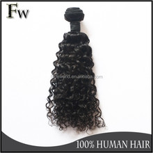 Jerry curl weave hairstyles 7A grade stock peruvian jerry curl hair