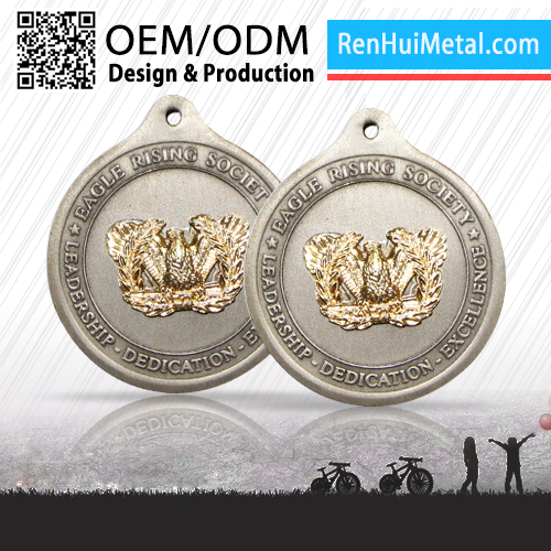 RENHUI METAL custom 3d decorating medals case