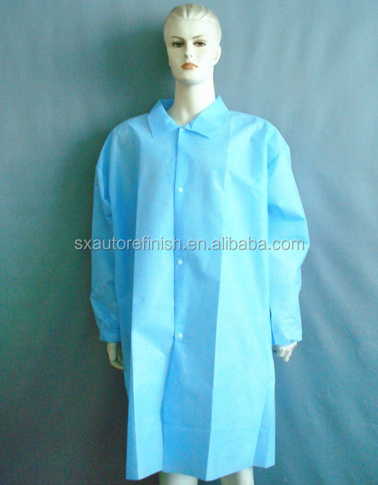Protection pp lab manteau bleu combinaison