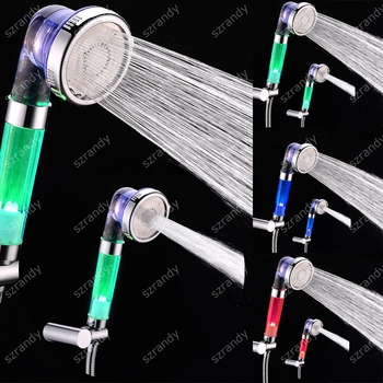temperature sensor 3 colors shower LD8008-E23
