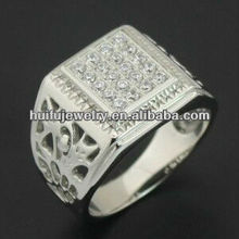 Fine jewellery ring stainless steel 316L