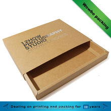 Hot kraft paper photo gift box