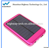 Smart/cell phone solar charger for power bank portable blackberry charger case