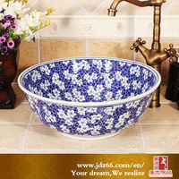 Decorative Counter Top Modern Ceramic American Standard Wash Basin