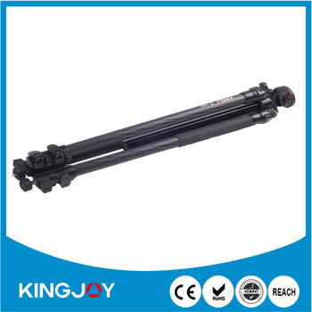 Kingjoy carbon fiber versatile professional detachable portable camera tripod for multi angle shooting