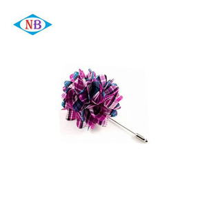 Top quality flower insert lapel pin brooch for clothing cheap price